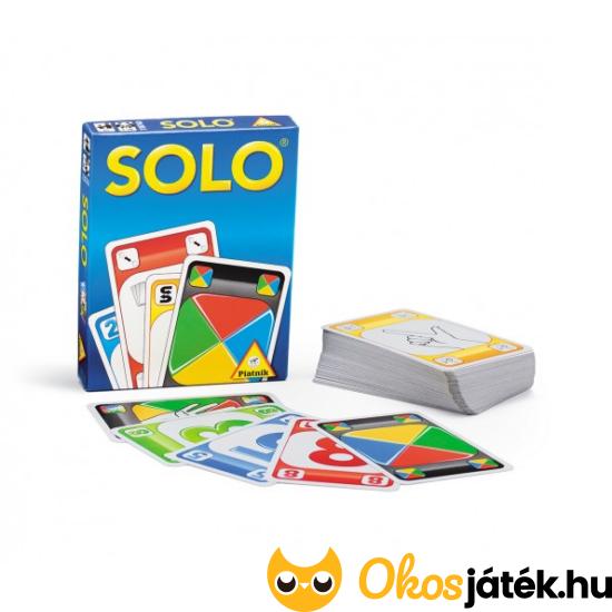 SOLO kártyajáték - mint az UNO/Makaó - PI