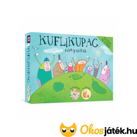 Kuflikupac kártyajáték 4 játék az 1 -ben  - Pagony 105358 (PP-F)