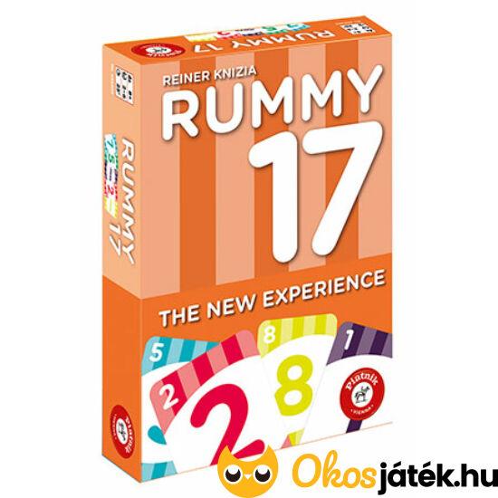 """Rummy 17 kártyajáték 658303 (PI) """"Utolsó darabok"""""""