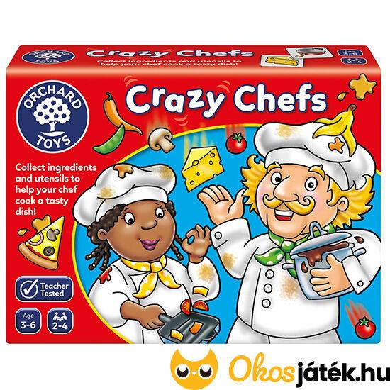 Bolondos szakácsok Crazy Chefs Orchard főzős társasjáték