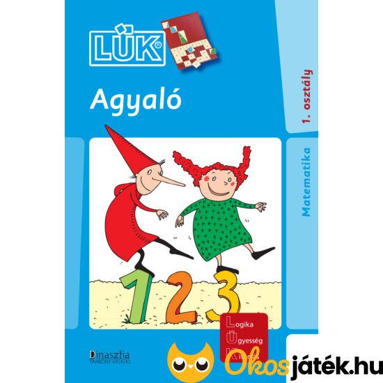 Agyaló 1. osztály matematika lük füzet 24db-os táblához LDI 701 (DI)