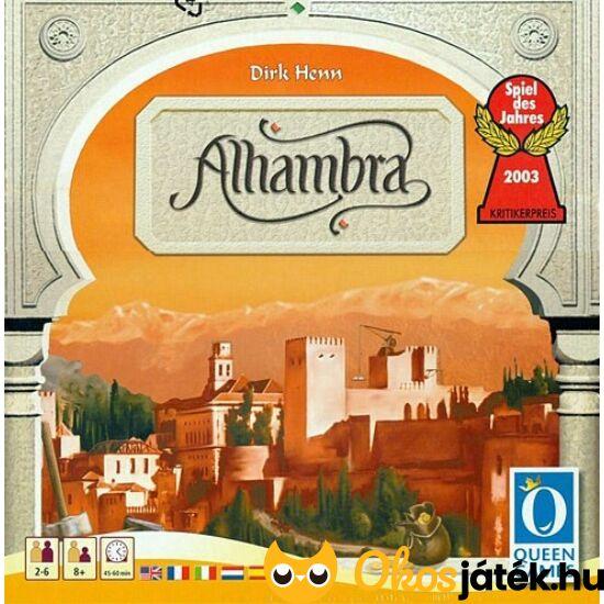 Alhambra társasjáték, új, nagydobozos kiadás - Piatnik (PI)