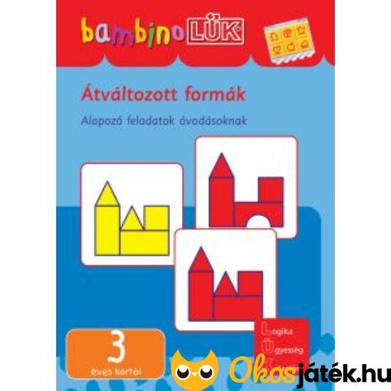 Átváltozott formák LÜK Bambino füzet LDI-119