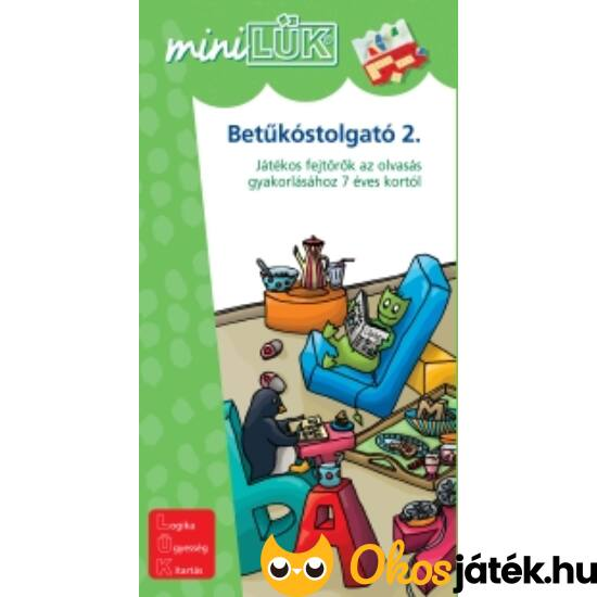 Betűkostolgató 2. Mini LÜK LDI-211