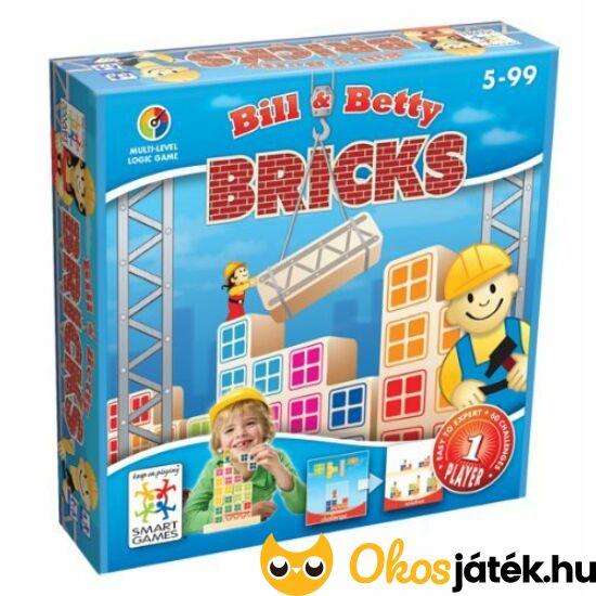 Bill & Betty Brick Építkezés logikai játék Smart Games (GA)