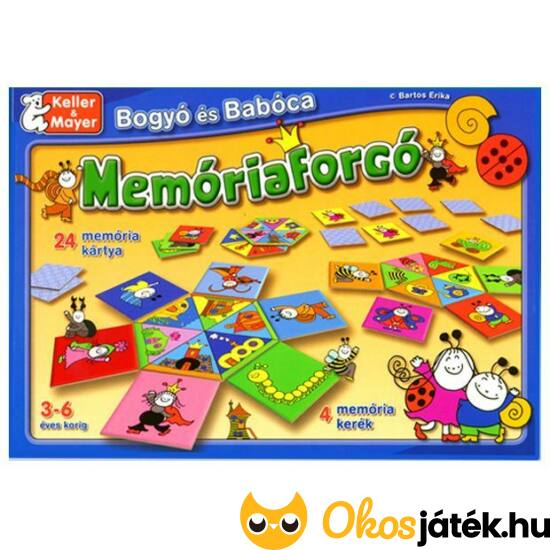 Bogyó és Babóca Memóriaforgó (093) - Keller & Mayer (KM)