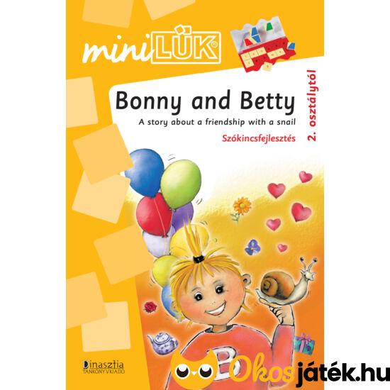 Bonny and Betty angol szókincsfejlesztés 2. osztálytól LÜK Mini LDI315 (DI)