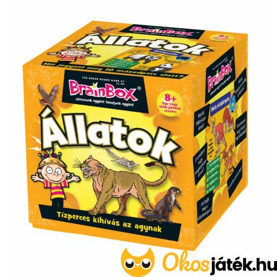 Brainbox Állatok - memória és kvíz kérdések játék (KE)