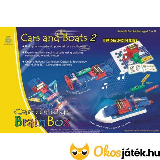 Brainbox építs elektromos autót és hajót 380420 (BO)