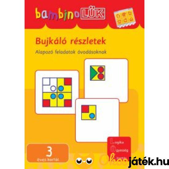 Bujkáló részletek LÜK Bambino füzet  LDI-120