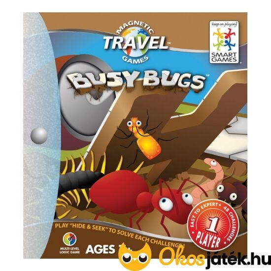 Busy Bugs Bogárvilág mágneses Smart Games játék (GA)