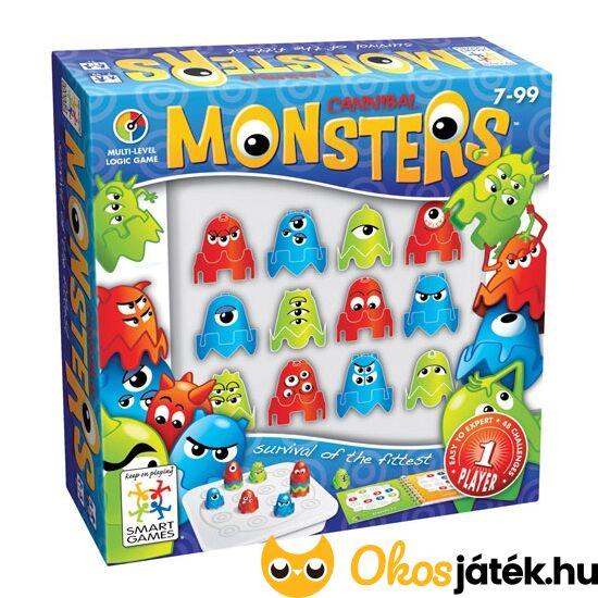 Szörnyfalók - Cannibal Monsters logikai játék Smart Games (GA)