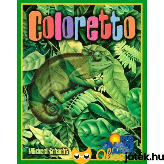 """Coloretto kártyajáték (GE) """"Utolsó darabok"""""""