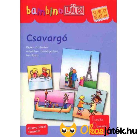 Csavargó LÜK Bambino füzet ovisoknak LDI-127