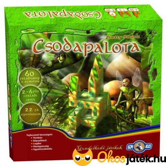 Csodapalota kreatív, ügyességi építő játék vagy társasjáték (GE)