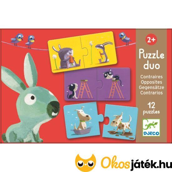Puzzle duo ellentét párok - DJ8162 Djeco (BO)