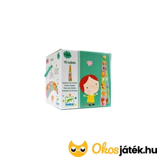 Toronyépítő kockajáték - Djeco 8507 (BO)
