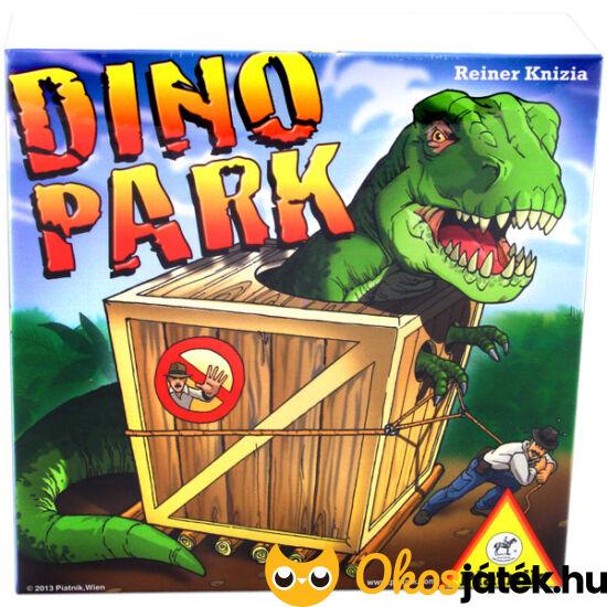 """Dino Park dinoszaurusz társasjáték - Piatnik (PI) """"Utolsó darabok"""""""