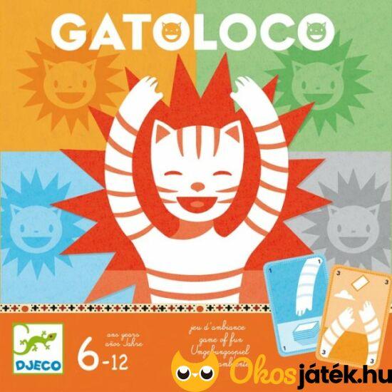 """Djeco Gatoloco vicces party - zsúr társasjáték DJ8455 (BO) """"Utolsó darabok"""""""