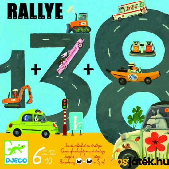 Rallye autóverseny / autós -  számolós társasjáték - DJ 8461