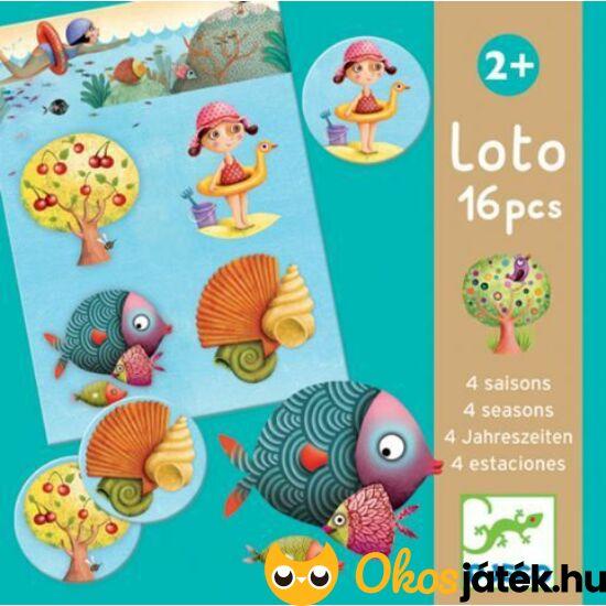 4 évszak Djeco lottó játék - képrészlet kereső játék - DJ8123 (BO)