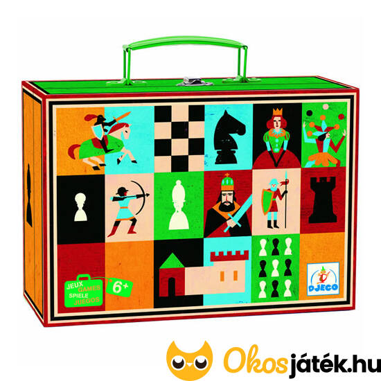 Sakk - Djeco sakk készlet gyerekeknek DJ5225