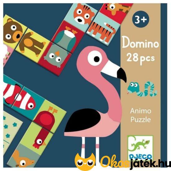 Domino Animo játék - Djeco DJ8165 (BO)