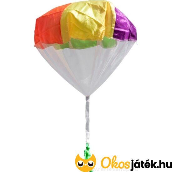 Ejtőernyő játék, feldobható, visszarepülő ejtőernyős játék  (889) (JS)