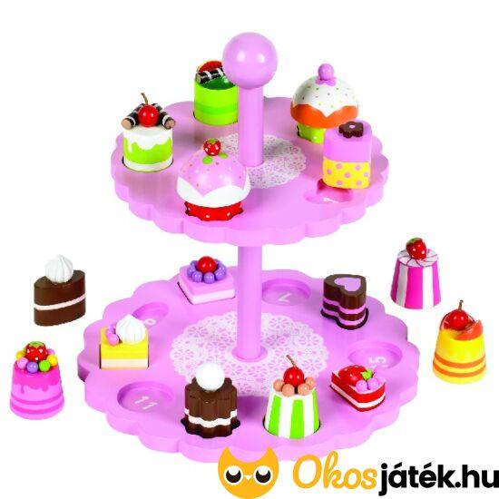 Fa sütis formaberakó és szerepjáték játék 3 éves lányoknak - JC T-0138