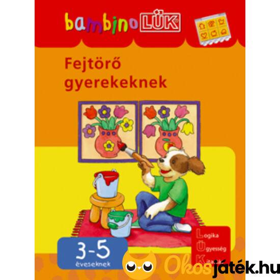 Fejtörő gyerekeknek LÜK Bambino füzet LDI-117 NFT