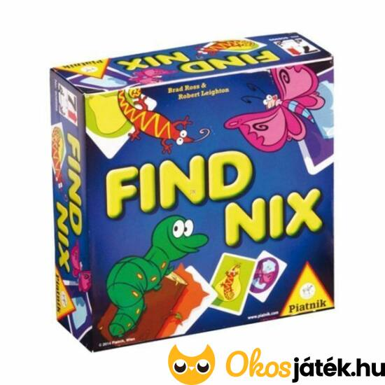 """FindNix megfigyelést, koncentrációt fejlesztő társasjáték - Piatnik (PI) """"Utolsó darabok"""""""