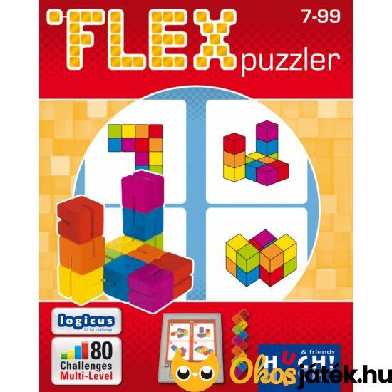 FLEX puzzle, rubik kígyóhoz hasonló tekergetős logikai játék - GE