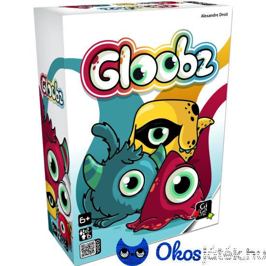 """Gloobz szörnyecskés megfigyelő-gyorsasági társasjáték (GE) """"Utolsó darabok"""""""