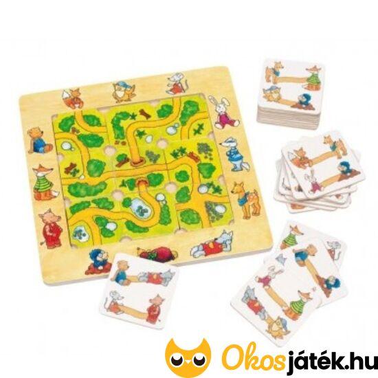 Goki útkereső labirintus logikai fajáték gyerekeknek (56944) (HO)