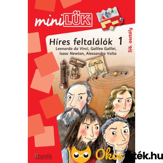 Híres feltalálók LÜK Mini füzet 5-6. osztály LDI242 (DI)