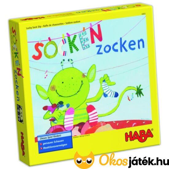 """HABA Keresd a párját társasjáték - Socken zocken (HA) """"Utolsó darabok"""""""