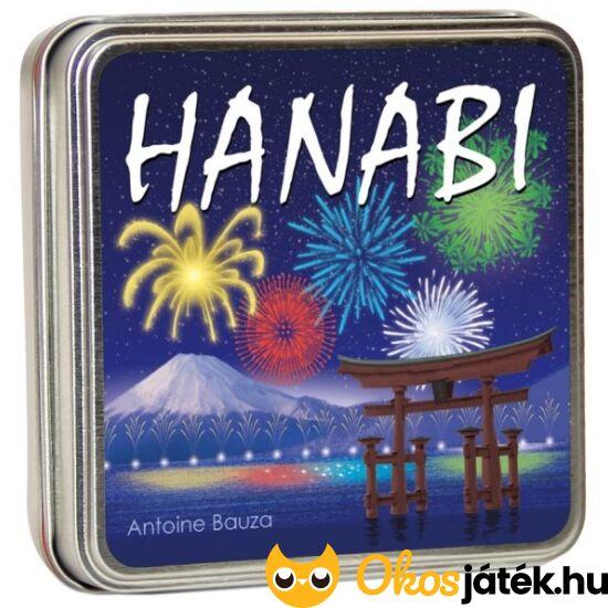 Hanabi kooperatív, díjnyertes kártyajáték - fémdobozos - GE