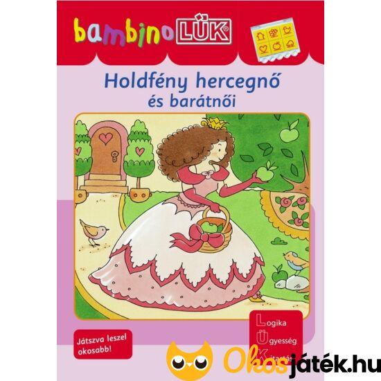 Holdfény hercegnő és barátnői LÜK Bambino füzet LDI-133