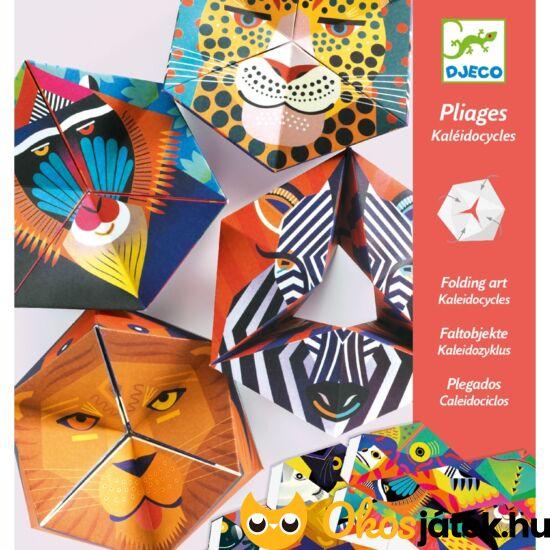Origami állatos tátika