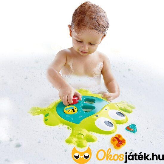 fürdő béka formaberakó játék