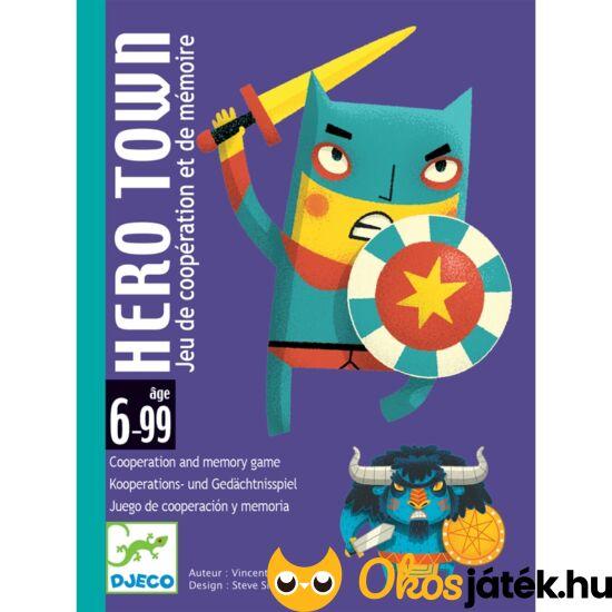 Hős város hero town djeco kártyajáték