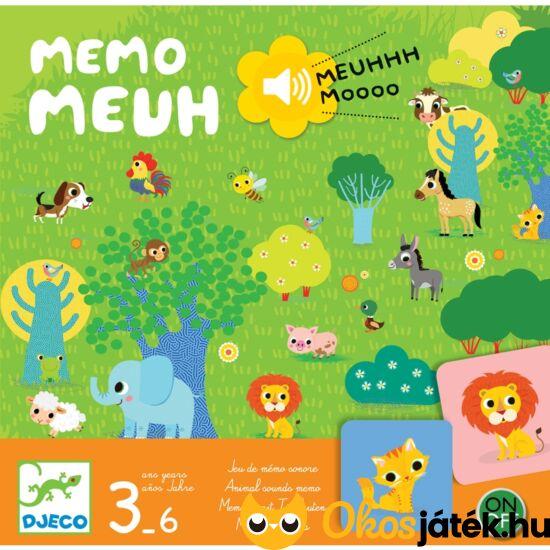 állathangok interaktív társasjáték gyerekeknek