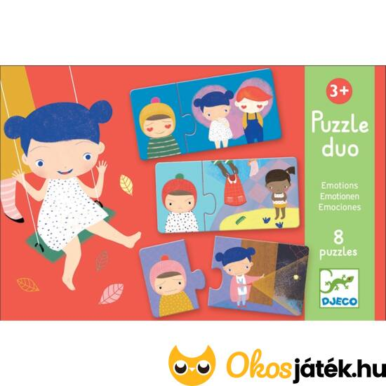 érzelmek puzzle játék