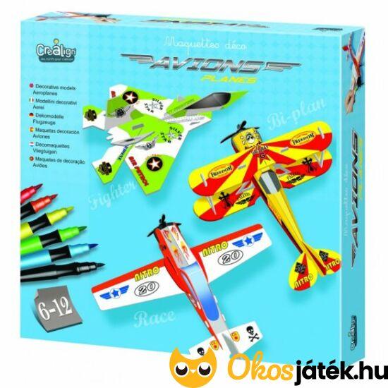 Repülőgép készítő model