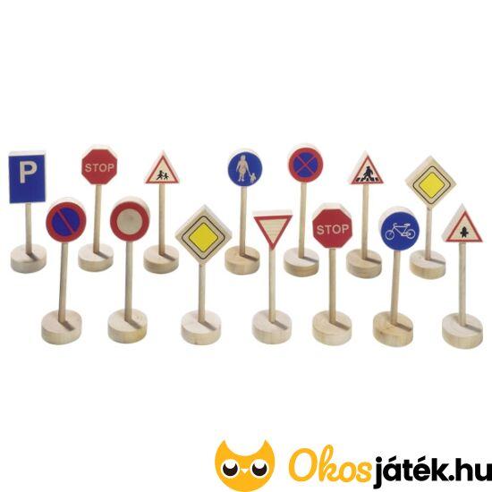 fa közlekedési táblák