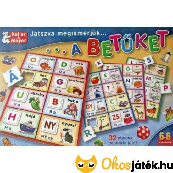 Játszva megismerjük a betűket képességfejlesztő játék  - KM 712116