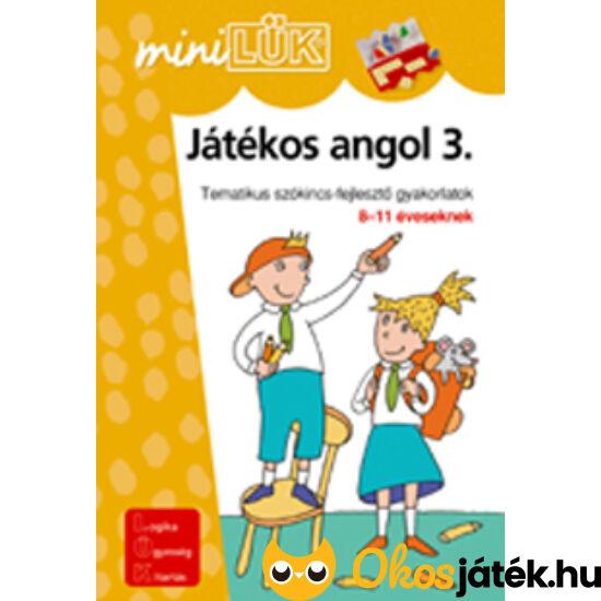 Játékos angol 3 LÜK Mini LDI303 (DI)