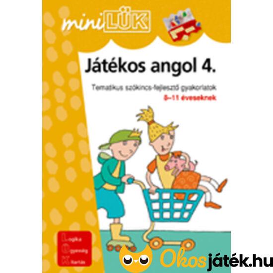 Játékos angol 4 LÜK Mini LDI304 (DI)