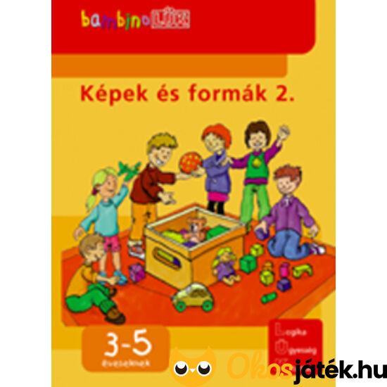 """Képek és formák 2. LÜK Bambino füzet LDI-109 (DI) """"Utolsó darabok"""""""