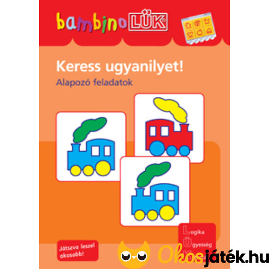 Keress ugyanilyet! LÜK Bambino füzet LDI-125